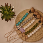 Pacifier Holder and Teether. Eco Friendly Made by Parents