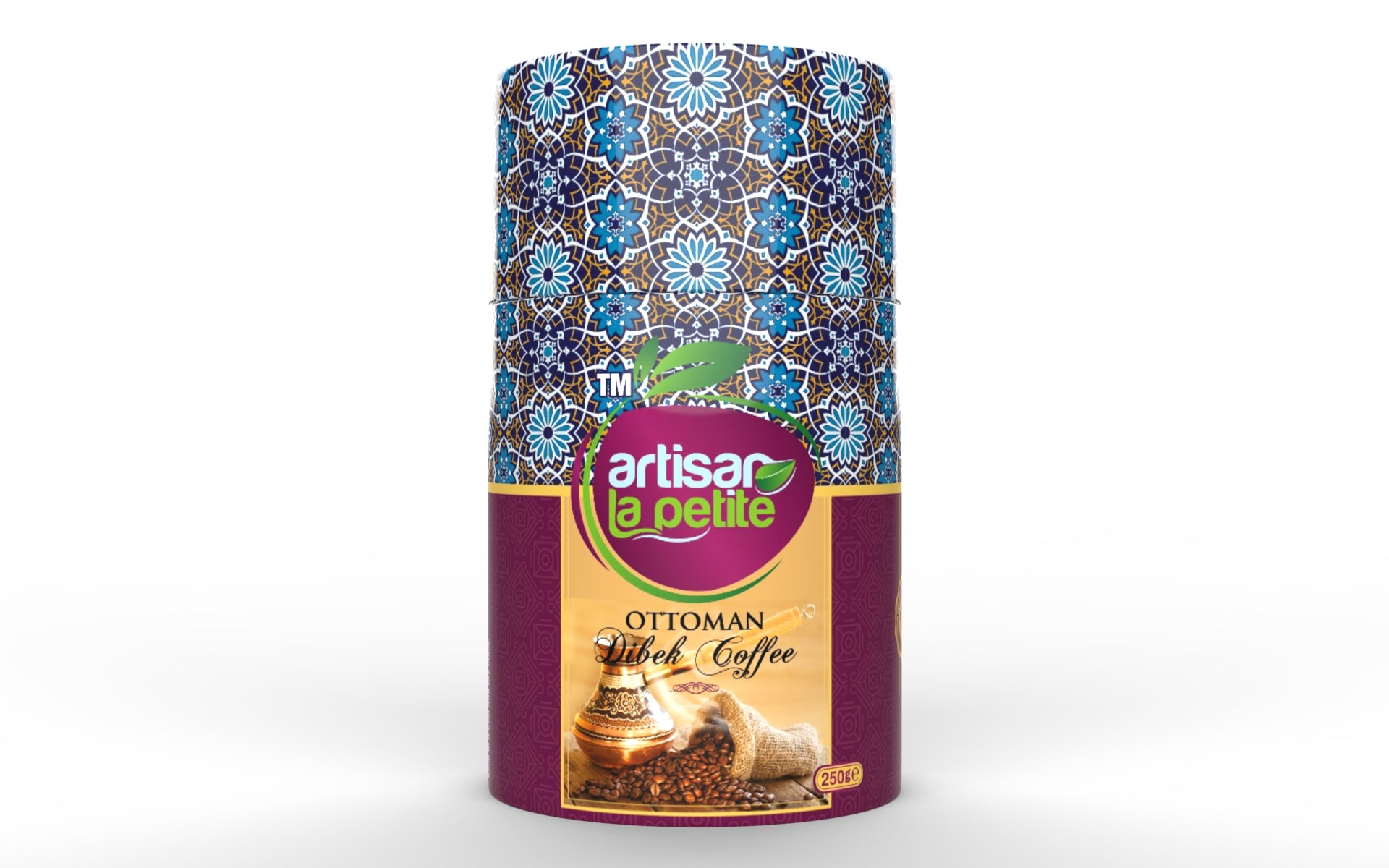 Ottoman Dibek Turkish  Coffee-Turk kahvesi 250g / 8.18 oz