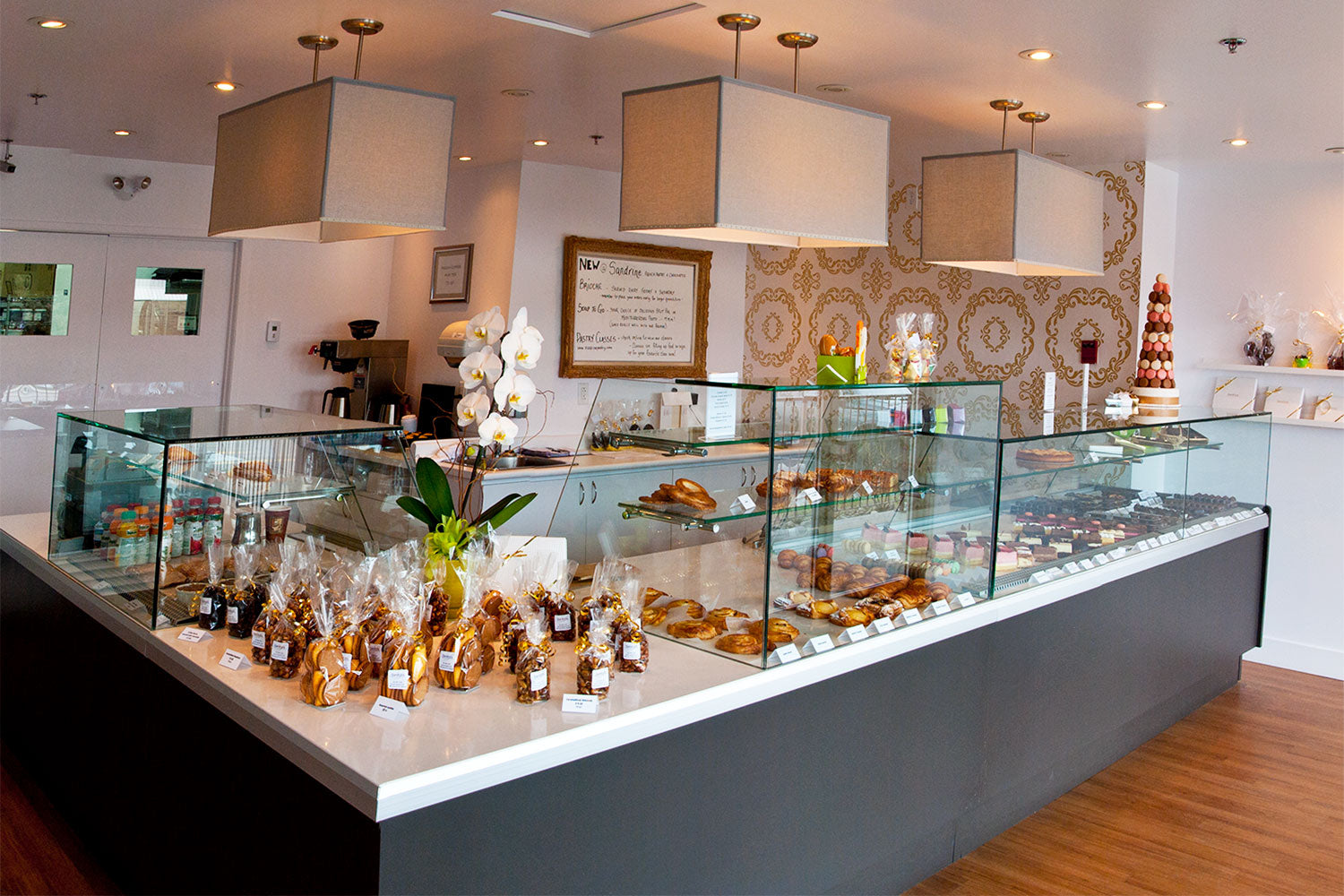 Find Sandrine Pastry and Chocolate at Orchard Place in Kelowna, BC
