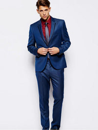 Slim Fit Suit Right Panel