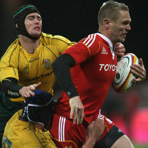 Paul in action for Munster against the Australian Wallabies