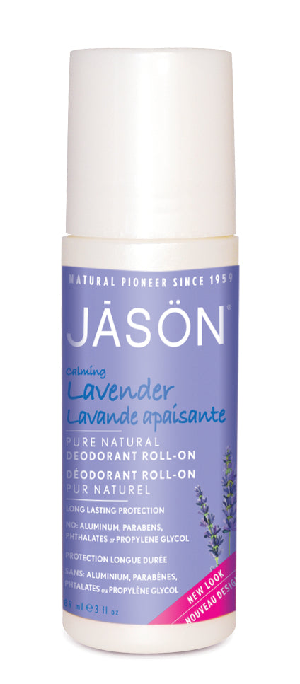Jasön, Lavender Deodorant Roll On Calming, 85 g
