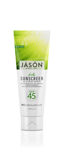 Jasön, Kids Sunscreen SPF45, 113 g