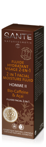 Homme II 2 in 1 Facial Moisture Fluid 50 ml (4 stk.)