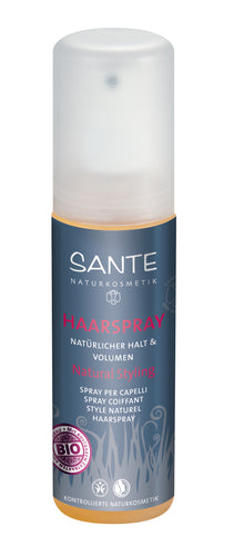 Sante Hair Spray for Natural Hold and Volume 150 ml