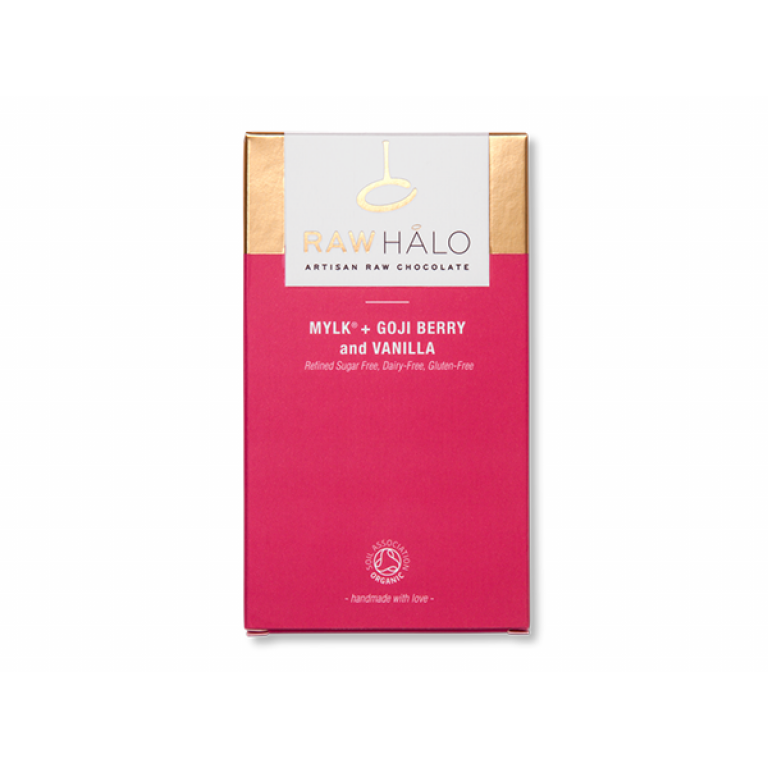 Raw Halo, Mylk+ Goji Berry & Vanilla, 35g