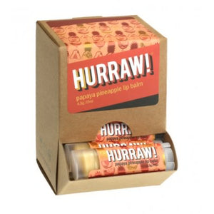 Hurraw! papaya pineapple (pakke a 23 stk. + 1 tester)