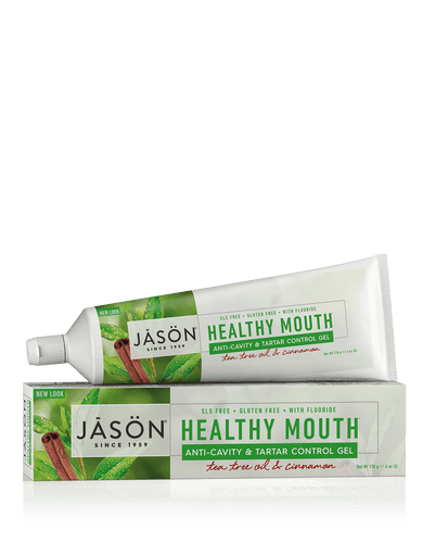 Jasön, Healthy Mouth Anti-Cavity & Tartar Control Tooth Gel, 170 g