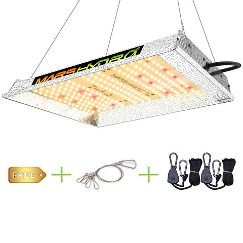 MARS HYDRO TS 600 LED Grow Light Complete Grow Kits+2'x2' Grow Tent+Fan Carbon Filter Indoor Plants