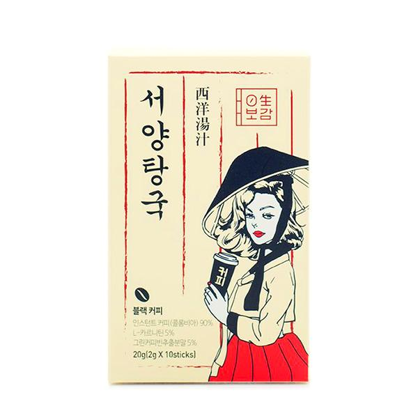 Seoyang Tangguk DIET Black Coffee (10sticks) 0Saeng-Bogam