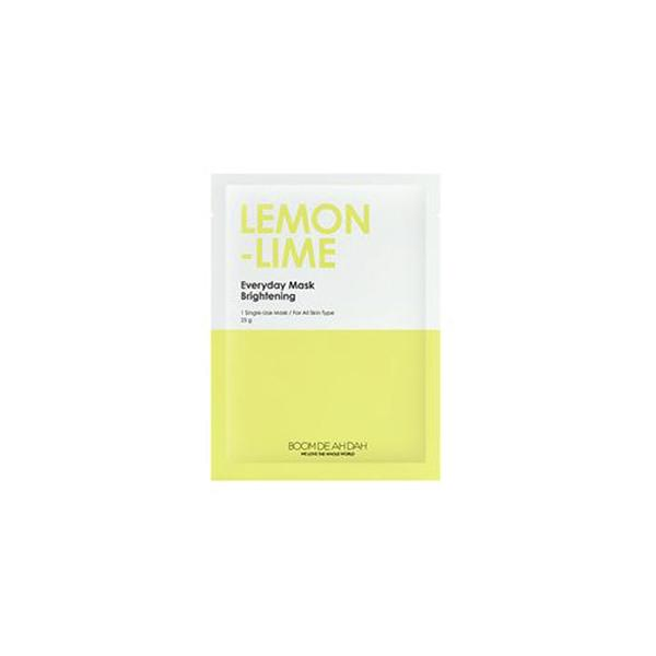 Everyday Mask (1 Sheet) BOOMDEAHDAH Lemon-Lime