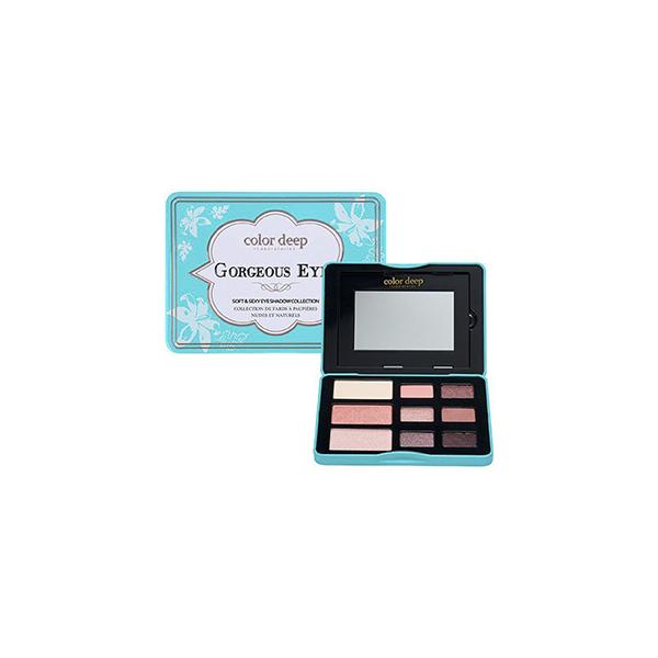 9 Color Eyeshadow Palette (10.2g)_Gorgeous Eyes (Renewal) Color Deep