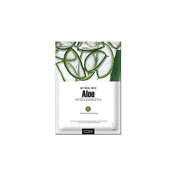 My Real Skin Facial Mask (1 Sheet) COS.W Aloe