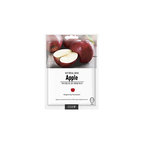 My Real Skin Facial Mask (1 Sheet) COS.W Apple