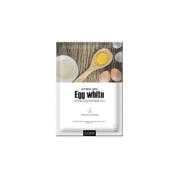 My Real Skin Facial Mask (1 Sheet) COS.W Egg White