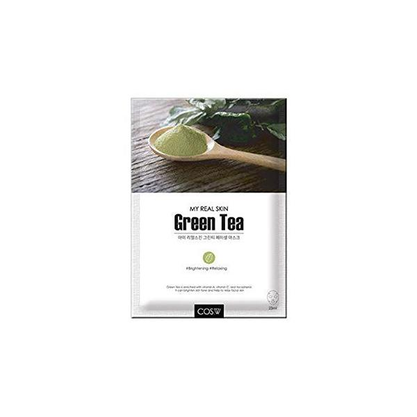 My Real Skin Facial Mask (1 Sheet) COS.W Green Tea