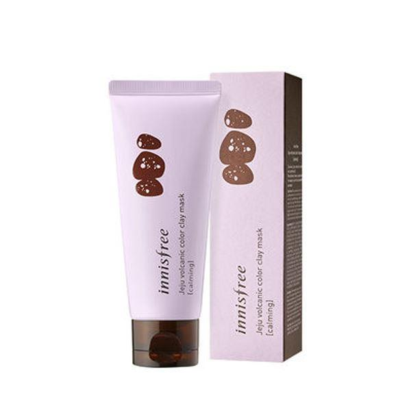 Jeju Volcanic Color Clay Mask (70ml) innisfree Purple