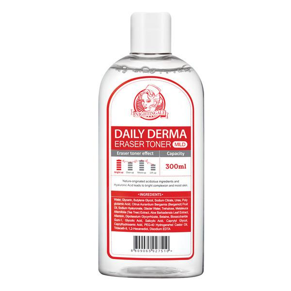 Daily Derma Eraser Toner (300ml) Nightingale Original Mild