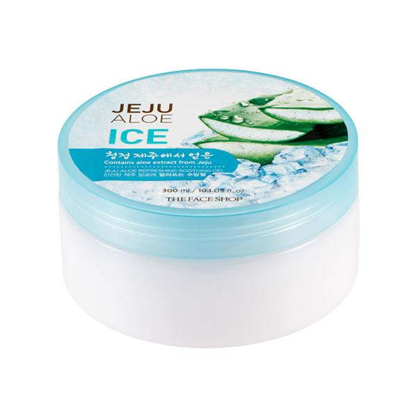 Ice Jeju Aloe Refreshing Soothing Gel (300ml) THE FACE SHOP