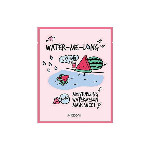 Water-Me-Long Moisturizing Watermelon Mask (1 Sheet) A'BLOOM  ?id=15298189262927