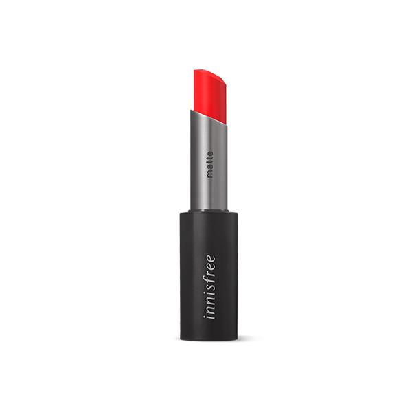 Real Fit Matte Lipstick (3.6g) innisfree 06 Red Vibe