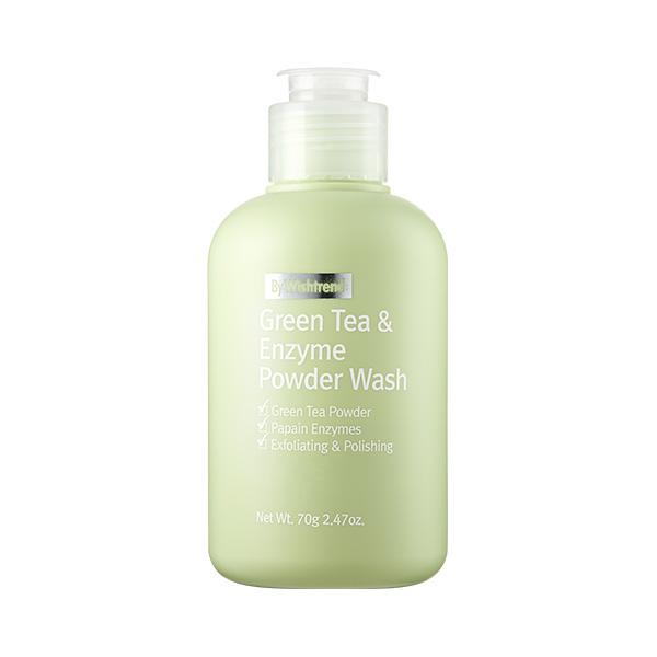 Green Tea & Enzyme Powder Wash (70g) By Wishtrend