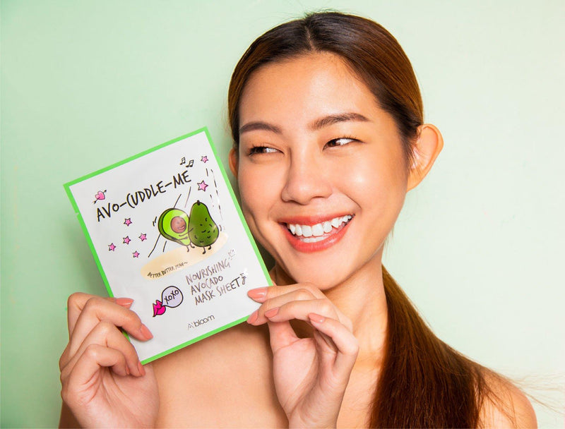 Avo-Cuddle-Me Nourishing Avocado Mask (1 Sheet) A'BLOOM