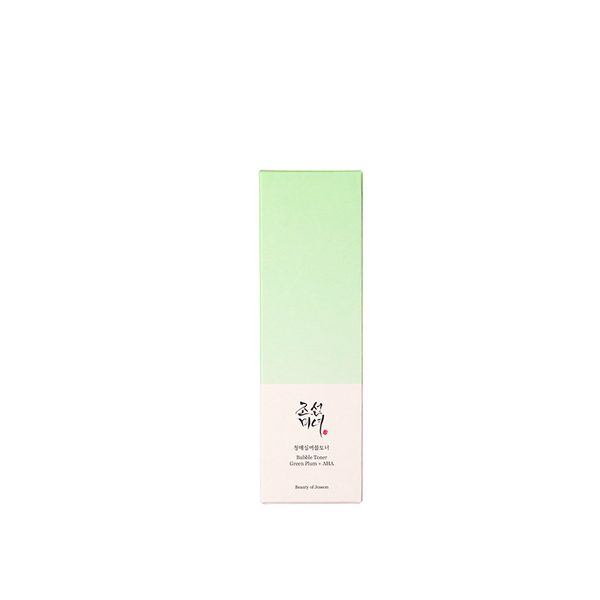 Bubble Toner : Green Plum + AHA (150ml)