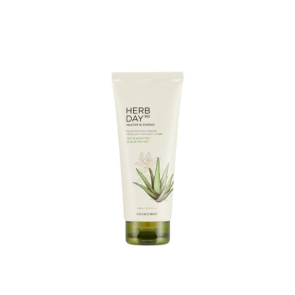 Herb Day 365 Master Blending Foaming Cleanser Aloe & Green Tea (170ml)