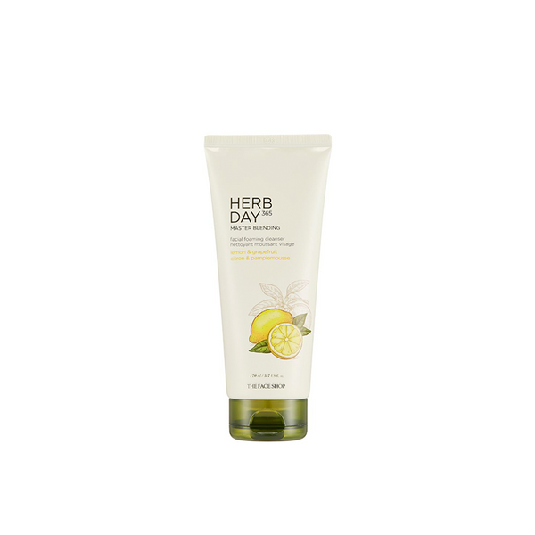 Herb Day 365 Master Blending Foaming Cleanser Lemon & Grapefruit (170ml)