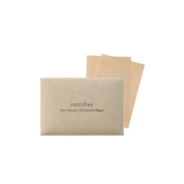 Jeju Volcanic Oil Control Paper (50 Sheets)