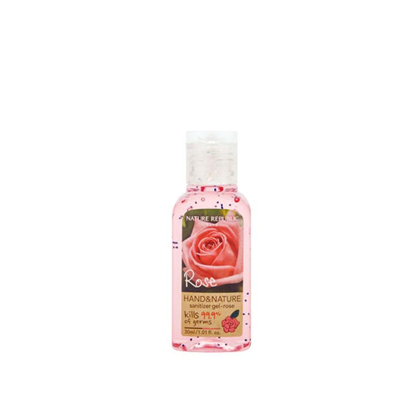 Hand & Nature Sanitizer (30ml)_Rose