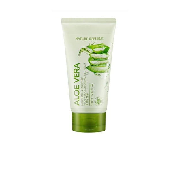 Soothing & Moisture Aloe Vera Cleansing Gel Foam (150ml)