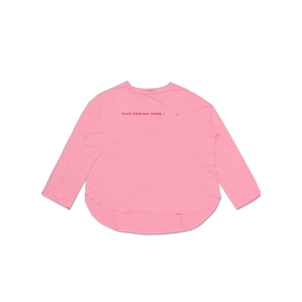 Simple Letter Long Sleeve Tshirt