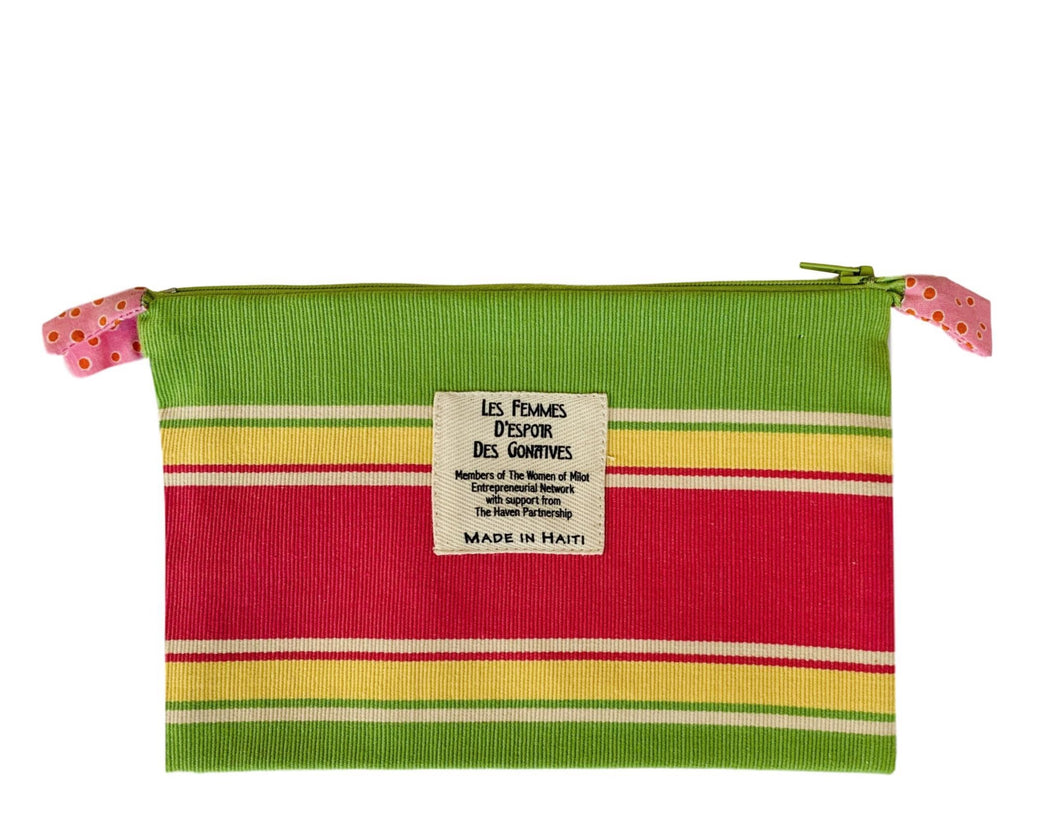 Okay Zip Bag made in Cap Haitien, Haiti