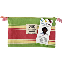 Load image into Gallery viewer, Colorful Zip Pouch Lined