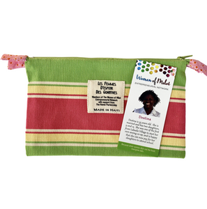 Colorful Zip Pouch Lined
