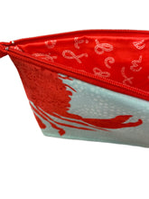 Load image into Gallery viewer, Red Crab Zip Pouch