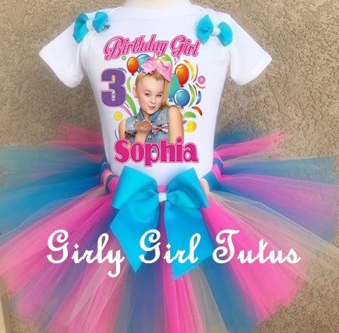 Here is link for entire birthday girl outfit https://girlygirltutus.com/products/jojo-siwa-personalized-birthday-tutu-outfit-party-dress-set?_pos=4&_sid=70a81e706&_ss=r