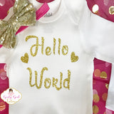 take home girl baby outfit