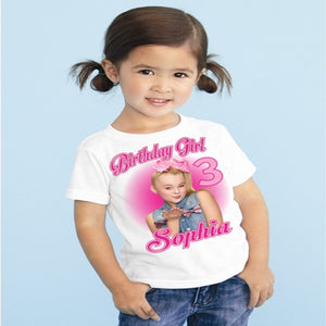 JoJo Siwa Custom Birthday T shirt Party Set