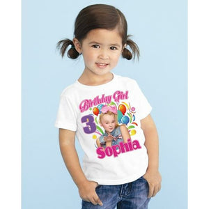 JoJo Siwa Custom Birthday Shirt Personalized Add Name