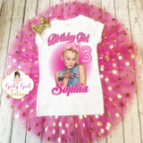 JoJo Siwa Personalized Girls Shimmer Tutu Outfit Dress Set