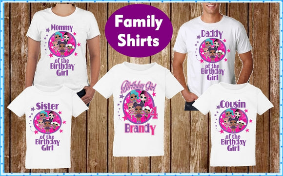 Lol Family Birthday Shirts - Lol Family T Shirts