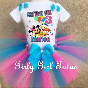 mickey mouse clubhouse birthday outfit girl