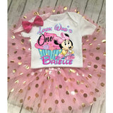 Minnie Mouse Custom 1st or 2nd Birthday Outfit