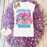 My Little Pony Personalized Birthday Outfit Tutu Set
