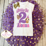 Sloth Birthday Outfit for Girls - Sloth Birthday Shirt