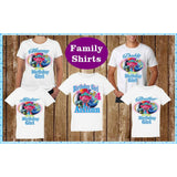 Trolls World Tour Family Birthday T Shirts- Trolls World Tour Birthday Party