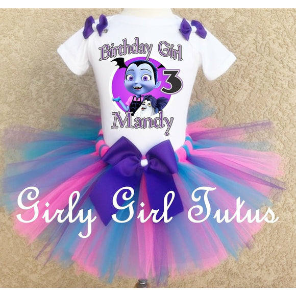 Vampirina Personalized Birthday Tutu Outfit Set